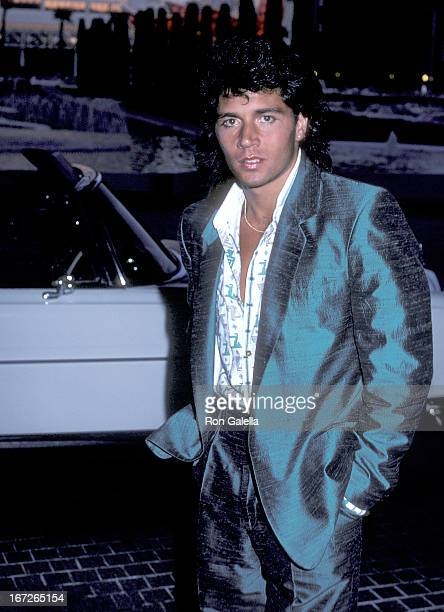 Actor Billy Hufsey attends the 21st Annual Jerry Lewis MDA Labor Day Telethon on September 1 1986 at Caesars Palace in Las Vegas Nevada