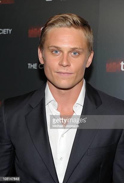 Actor Billy Magnussen attends the after party for the Cinema Society 2ist screening of Twelve at Le Bain on July 28 2010 in New York City