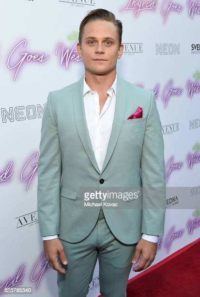 "Actor Billy Magnussen attends the Los Angeles Premiere of ""Ingrid Goes West"" presented by SVEDKA Vodka and Avenue Los Angeles at ArcLight Cinemas on..."