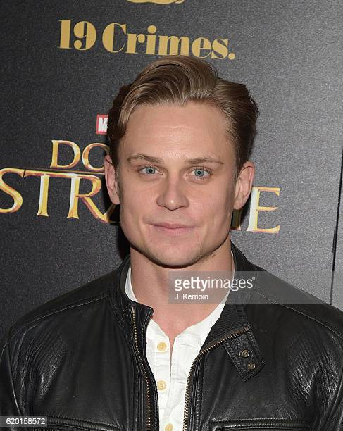 Actor Billy Magnussen attends the Screening Of Marvel Studios' Doctor Strange at AMC Empire on November 1 2016 in New York City