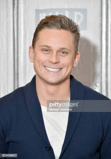Actor Billy Magnussen visits Build Studio to discuss the movie Game Night at Build Studio on February 23 2018 in New York City