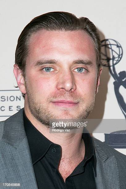 Actor Billy Miller arrives at the 40th Annual Daytime Emmy Nominees Cocktail Reception at Montage Beverly Hills on June 13, 2013 in Beverly Hills,...