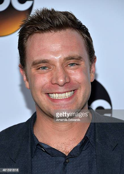 """Actor Billy Miller arrives at the ABC TCA """"Winter Press Tour 2015"""" Red Carpet on January 14, 2015 in Pasadena, California."""