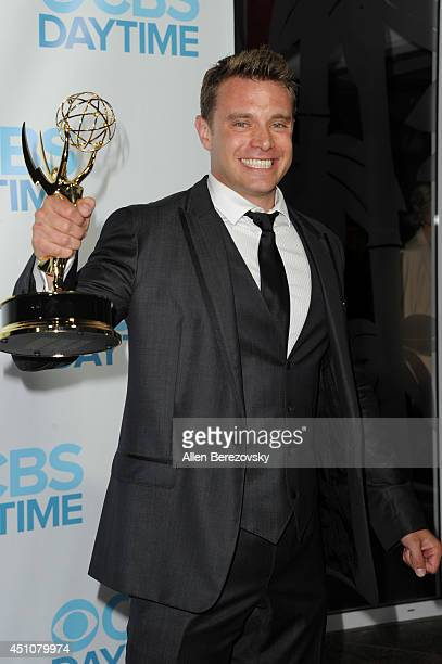 Actor Billy Miller attends the 41st Annual Daytime Emmy Awards CBS After Party at The Beverly Hilton Hotel on June 22, 2014 in Beverly Hills,...