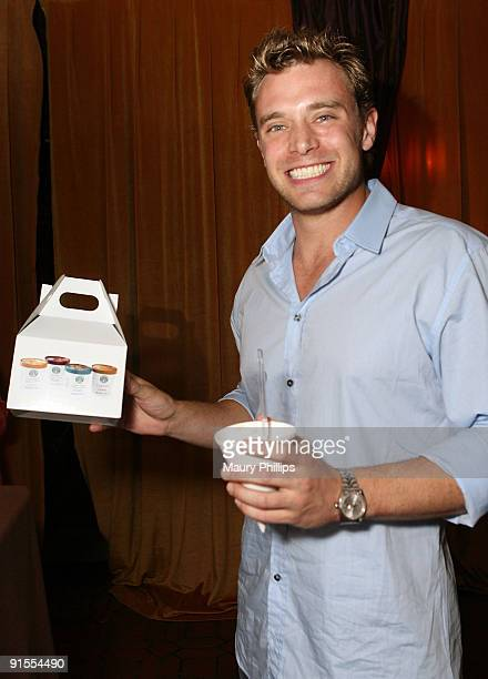 Actor Billy Miller poses in the Daytime Emmy official gift lounge produced by On 3 Productions held at The Orpheum Theatre on August 29, 2009 in Los...