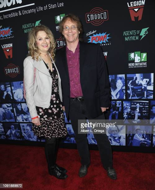 Actor Billy Mumy and wife Eilen arrive for Excelsior A Celebration Of The Amazing Fantastic Incredible And Uncanny Life Of Stan Lee held at TCL...