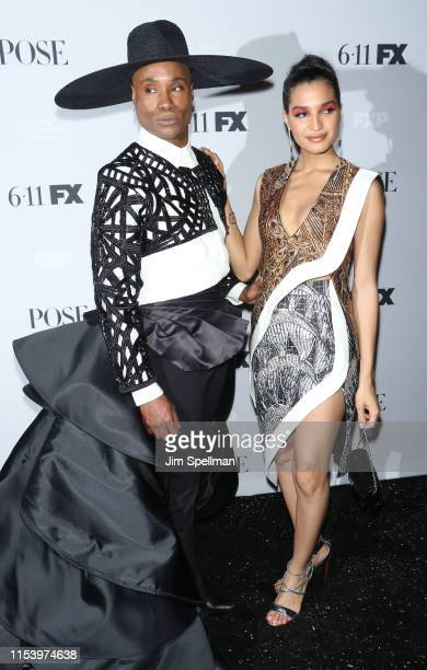 Actor Billy Porter and model/actress Indya Moore attend the FX Network's Pose Season 2 Premiere on June 05 2019 in New York City