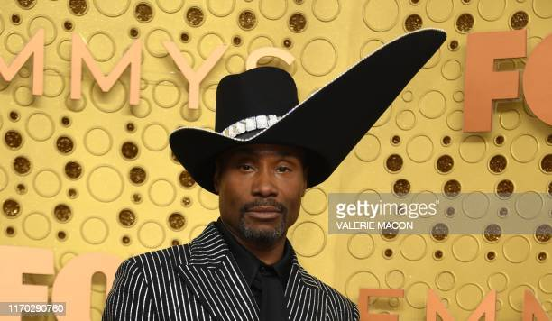 TOPSHOT US actor Billy Porter arrives for the 71st Emmy Awards at the Microsoft Theatre in Los Angeles on September 22 2019