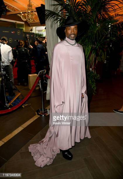 Actor Billy Porter attends the 20th Annual AFI Awards at Four Seasons Hotel Los Angeles at Beverly Hills on January 03, 2020 in Los Angeles,...