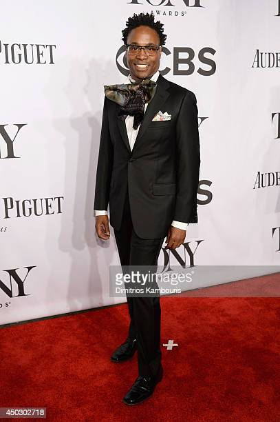 Actor Billy Porter attends the 68th Annual Tony Awards at Radio City Music Hall on June 8 2014 in New York City