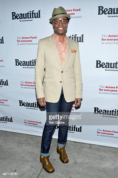 Actor Billy Porter attends the Actors Fund Benefit Performance of 'Beautiful The Carole King Musical' at Stephen Sondheim Theatre on April 27 2014 in...