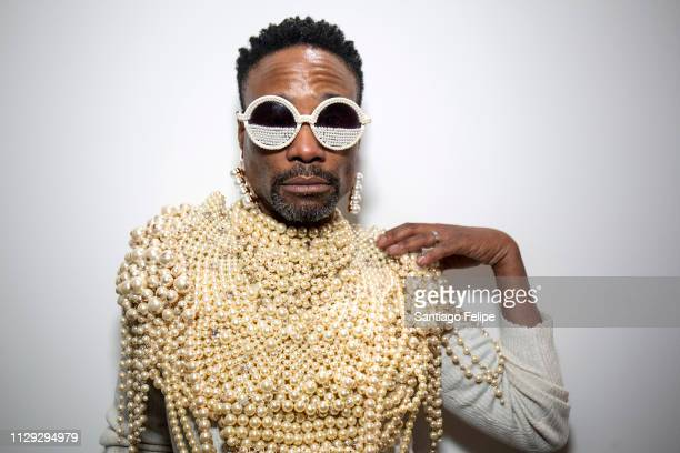 Actor Billy Porter attends The Blonds Fall / Winter 2019 runway show at Spring Studios on February 12 2019 in New York City