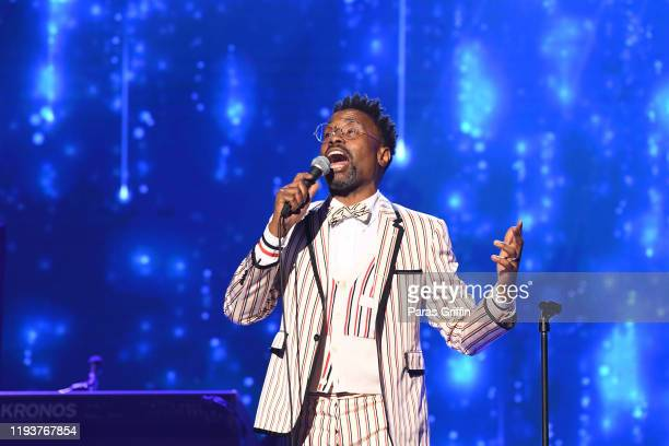 Actor Billy Porter performs onstage during 2019 Urban One Honors at MGM National Harbor on December 05 2019 in Oxon Hill Maryland