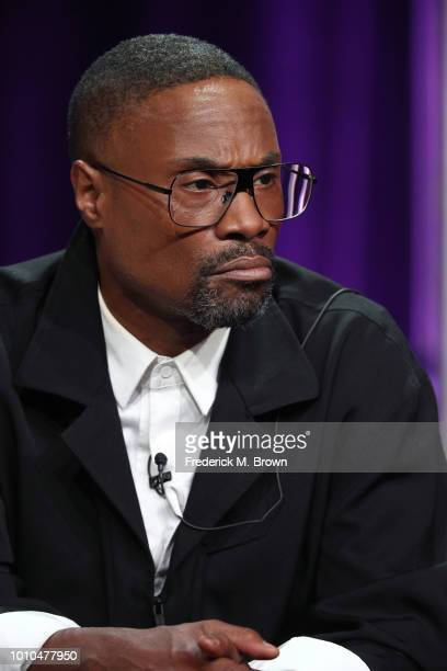 Actor Billy Porter speaks onstage at the 'Pose' panel during the FX Network portion of the Summer 2018 TCA Press Tour at The Beverly Hilton Hotel on...