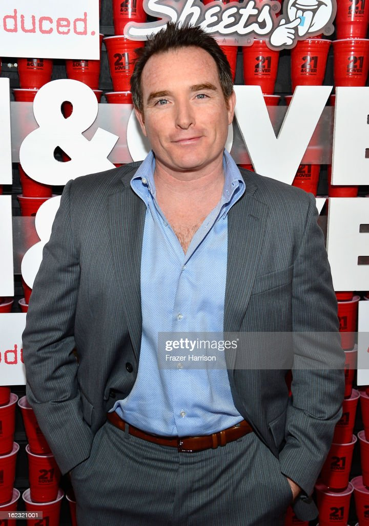 Actor Billy Smith attends Relativity Media's '21 and Over' premiere at Westwood Village Theatre on February 21, 2013 in Westwood, California.