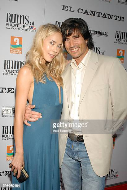 Actor Billy Wirth and Sarah Skogland arrive to the Los Angeles premiere of 'El Cantante' starring Mark Anthony and Jennifer Lopez at the Director's...