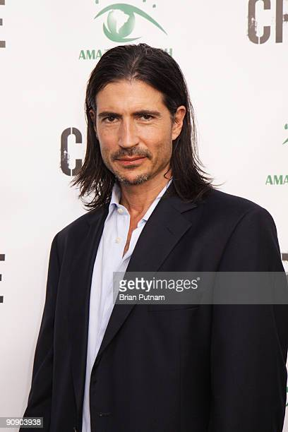 Actor Billy Wirth arrives for the screening of the film 'CRUDE' at Harmony Gold Theatre on September 17 2009 in Los Angeles California