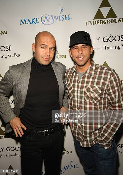 Actor Billy Zane and Rockit Ranch's Billy Dec at The Grinch Who Gave Back Christmas to benefit Make-A-Wish hosted by Grey Goose at The Underground on...