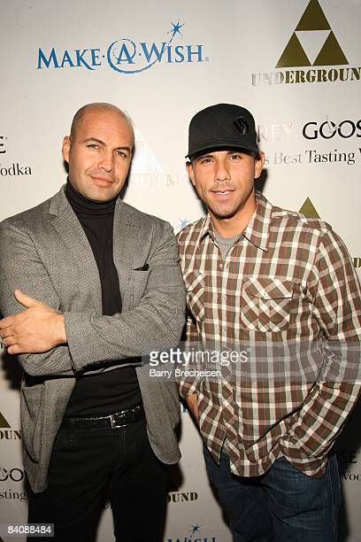 Actor Billy Zane and Rockit Ranch's Billy Dec at The Grinch Who Gave Back Christmas to benefit MakeAWish hosted by Grey Goose at The Underground on...