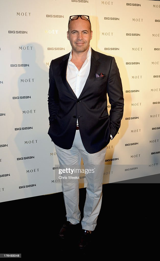 Actor Billy Zane attends Moet Rose Lounge Los Angeles hosted by Big Sean at The London West Hollywood on August 13, 2013 in West Hollywood, California.