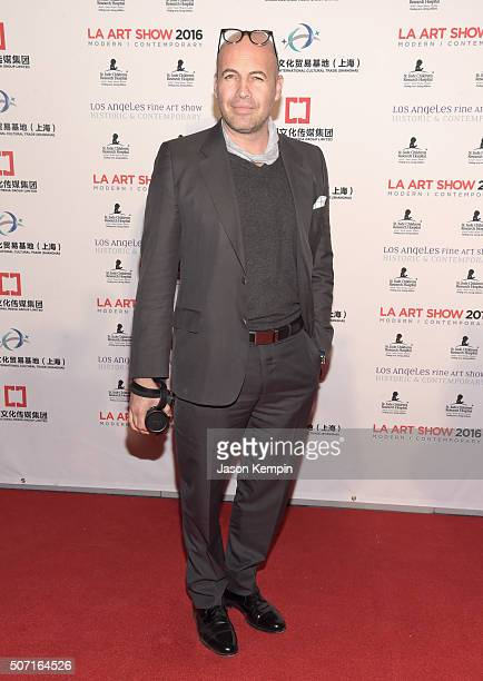 Actor Billy Zane attends the LA Art Show and Los Angeles Fine Art Show's 2016 opening night premiere party benefiting St Jude Children's Research...