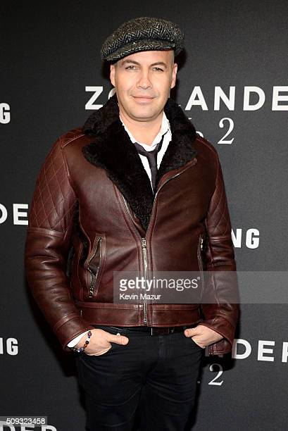 Actor Billy Zane attends the 'Zoolander 2' World Premiere at Alice Tully Hall on February 9 2016 in New York City
