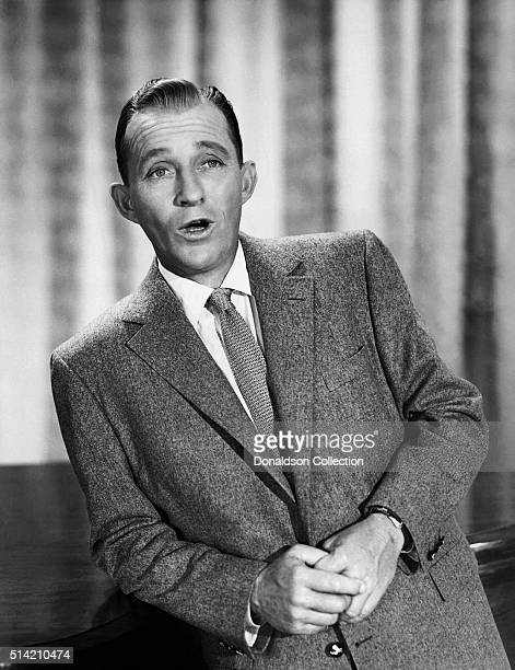 Actor Bing Crosby poses for a portrait with circa 1945