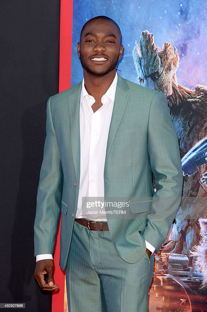 Actor B.J. Britt attends the premiere of Marvel's 'Guardians Of The Galaxy' at the Dolby Theatre on July 21, 2014 in Hollywood, California.