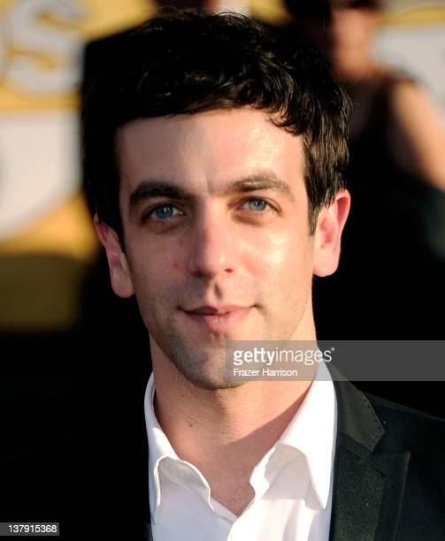 Actor BJ Novak arrives at the 18th Annual Screen Actors Guild Awards at The Shrine Auditorium on January 29 2012 in Los Angeles California