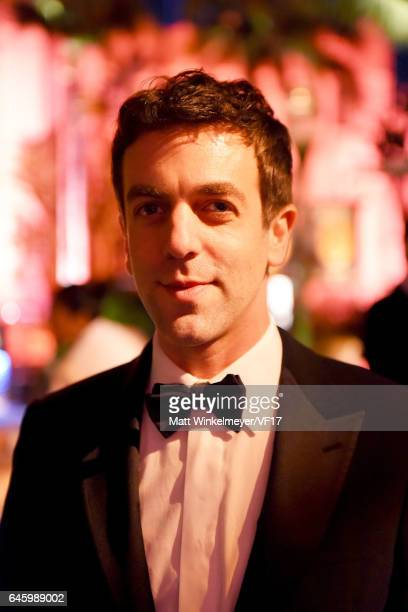 Actor BJ Novak attends the 2017 Vanity Fair Oscar Party hosted by Graydon Carter at Wallis Annenberg Center for the Performing Arts on February 26...