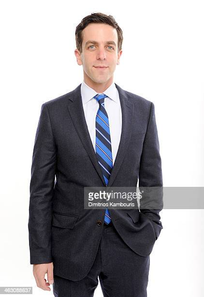 Actor B.J. Novak poses for a portrait during the 19th Annual Critics' Choice Movie Awards at Barker Hangar on January 16, 2014 in Santa Monica,...