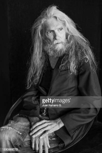 Actor Bjorn Andresen poses for a portrait session during the Atlantida Mallorca Film Fest 2021on July 27, 2021 in Palma de Mallorca, Spain.