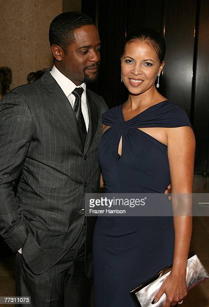 Actor Blair Underwood and his wife actress Desiree DaCosta arrive at the 22nd Annual American Cinematheque Award presentation held at the Beverly...