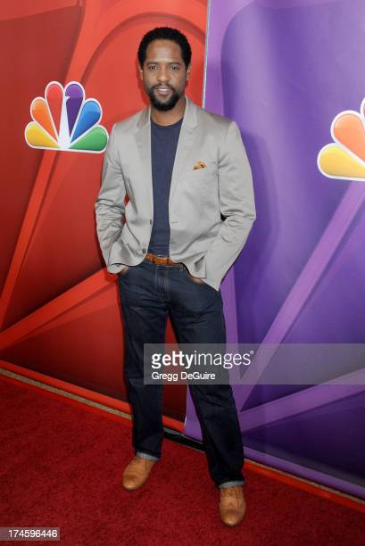 Actor Blair Underwood arrives at the 2013 NBC Television Critics Association's Summer Press Tour at The Beverly Hilton Hotel on July 27 2013 in...