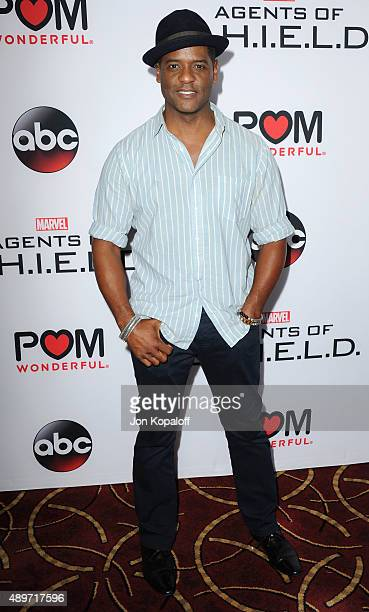 """Actor Blair Underwood arrives at the Premiere Of Marvel's """"Agents Of S.H.I.E.L.D."""" at Pacific Theatre at The Grove on September 23, 2015 in Los..."""