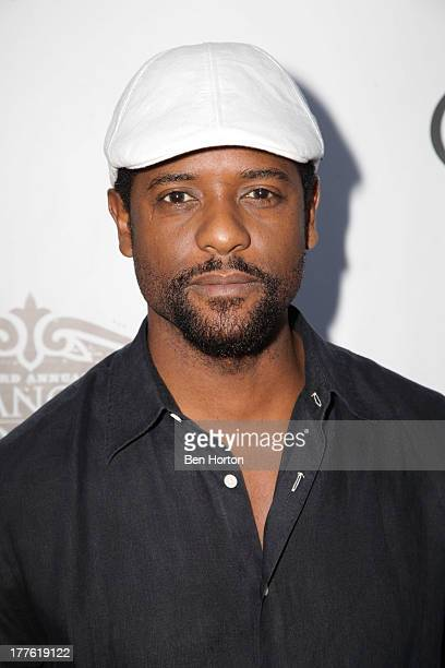 Actor Blair Underwood attends LEXUS Live on Grand hosted by Curtis Stone at the third annual Los Angeles Food Wine Festival on August 24 2013 in Los...