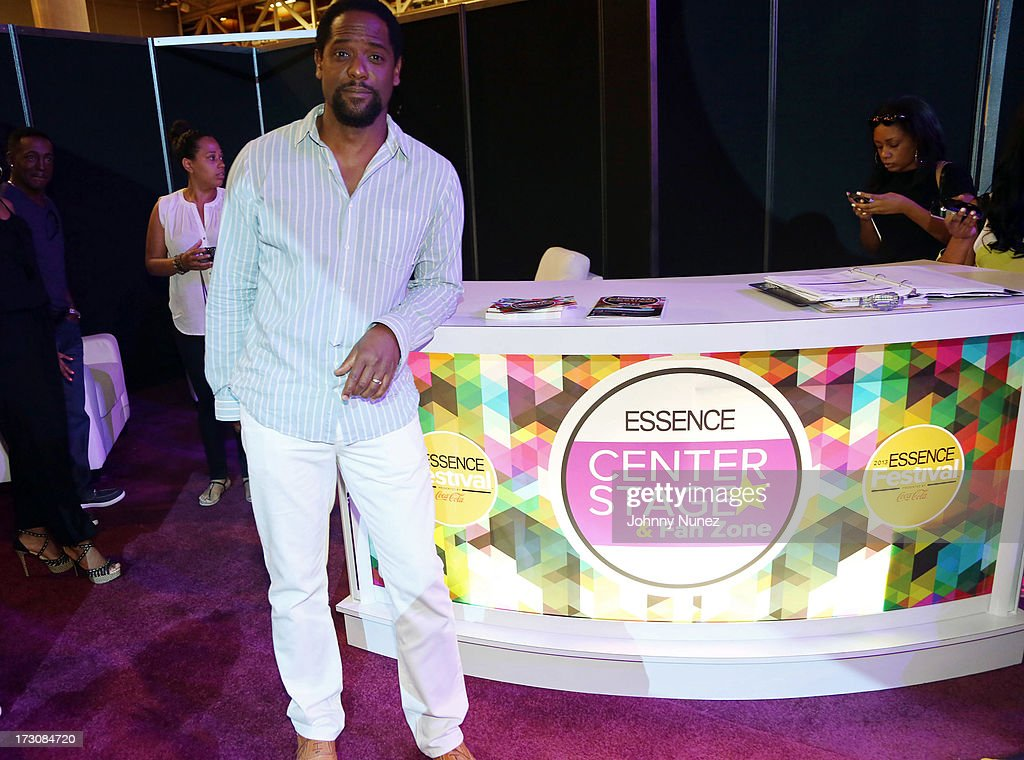 Actor Blair Underwood attends the 2013 Essence Festival at the Ernest N. Morial Convention Center on July 6, 2013 in New Orleans, Louisiana.
