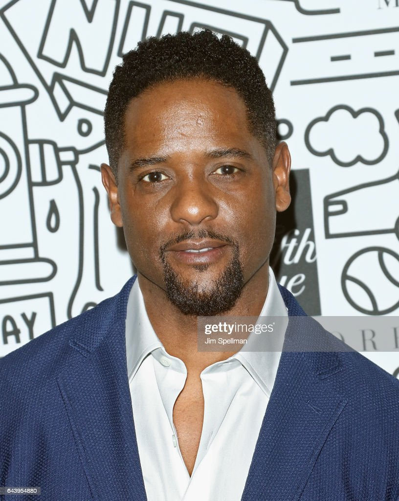 Actor Blair Underwood attends the Saks Downtown Men's opening at Saks Downtown Men's on February 22, 2017 in New York City.