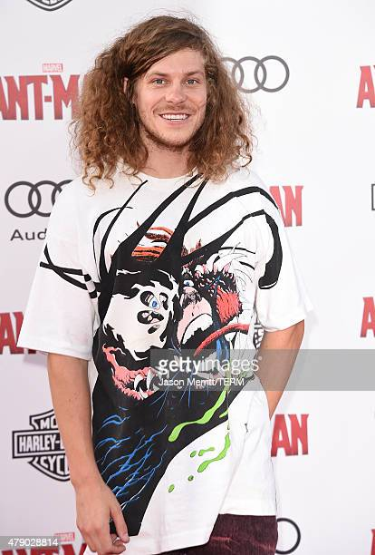 Actor Blake Anderson arrives at the Los Angeles Premiere of Marvel Studios 'AntMan' at Dolby Theatre on June 29 2015 in Hollywood California