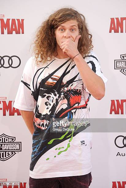 Actor Blake Anderson arrives at the premiere of Marvel Studios AntMan at Dolby Theatre on June 29 2015 in Hollywood California