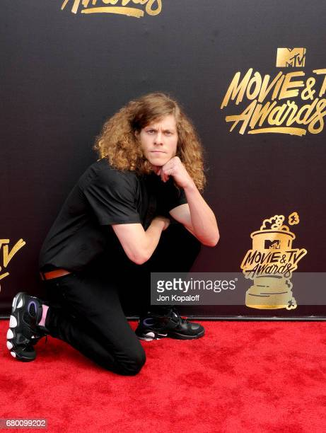 Actor Blake Anderson attends the 2017 MTV Movie And TV Awards at The Shrine Auditorium on May 7 2017 in Los Angeles California