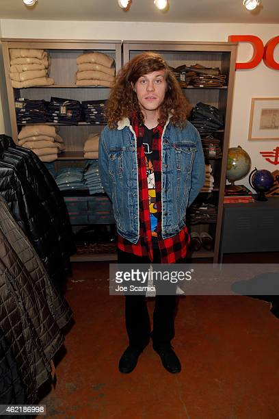 Actor Blake Anderson attends The Variety Studio At Sundance Presented By Dockers on January 25 2015 in Park City Utah