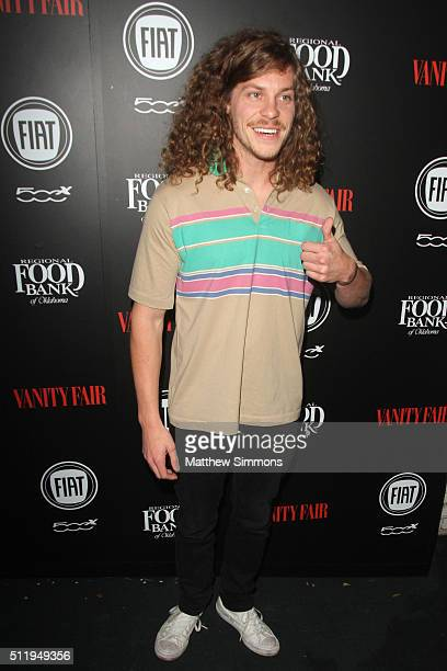 Actor Blake Anderson attends Vanity Fair and FIAT Young Hollywood Celebration at Chateau Marmont on February 23 2016 in Los Angeles California