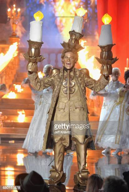 Actor Blake Anderson performs onstage during the 2017 MTV Movie And TV Awards at The Shrine Auditorium on May 7 2017 in Los Angeles California