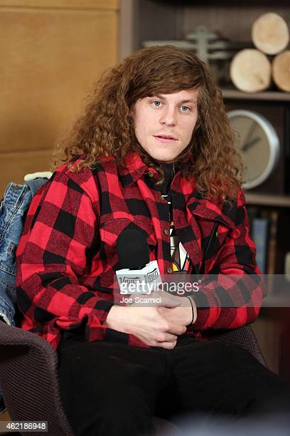 Actor Blake Anderson speaks at The Variety Studio At Sundance Presented By Dockers on January 25 2015 in Park City Utah