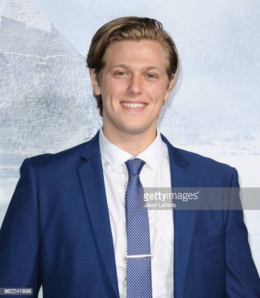 Actor Blake Burt attends the premiere of 'Geostorm' at TCL Chinese Theatre on October 16 2017 in Hollywood California