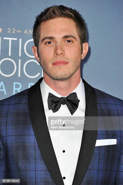 Actor Blake Jenner arrives at The 22nd Annual Critics' Choice Awards at Barker Hangar on December 11 2016 in Santa Monica California