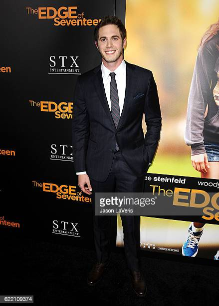 Actor Blake Jenner attends a screening of The Edge of Seventeen at Regal LA Live Stadium 14 on November 9 2016 in Los Angeles California
