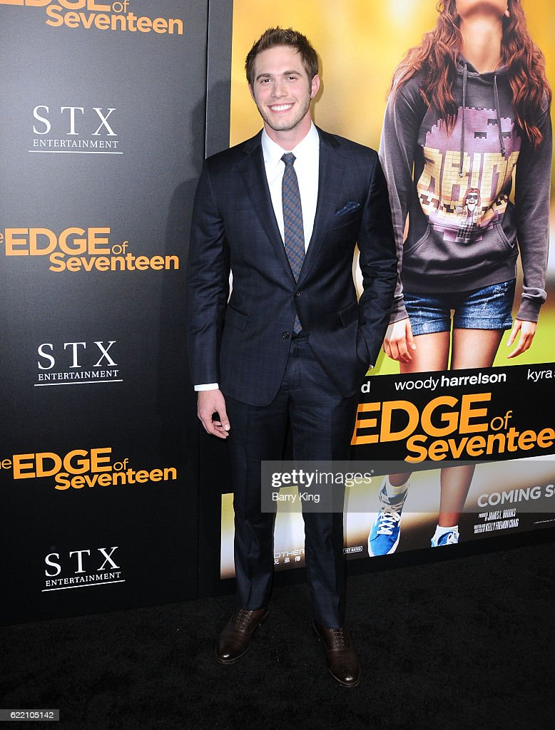 Actor Blake Jenner attends screening of STX Entertainment's 'The Edge Of Seventeen' at Regal LA Live Stadium 14 on November 9, 2016 in Los Angeles, California.