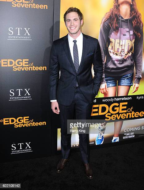 Actor Blake Jenner attends screening of STX Entertainment's 'The Edge Of Seventeen' at Regal LA Live Stadium 14 on November 9 2016 in Los Angeles...